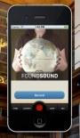 FoundSound running in the iOS simulator